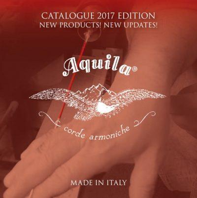 Catálogo de cordas e encordoamentos Aquila Corde Armoniche 2017