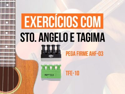 Manual Santo Angelo Exercitador Pega Firme AHF-03 e Tagima TFE-10