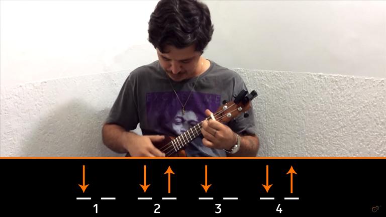 Aprenda batidas / ritmos / levadas no ukulele
